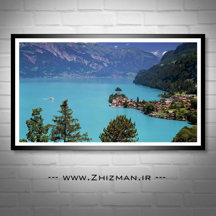 عکس طبیعت سوئیس - دریاجه برینز
