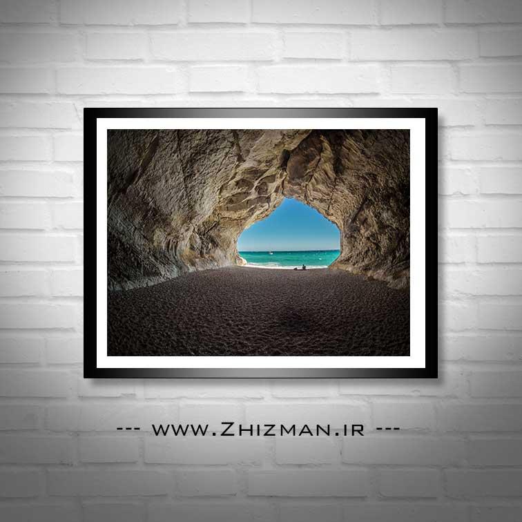 عکس غاری در ساحل ایتالیا