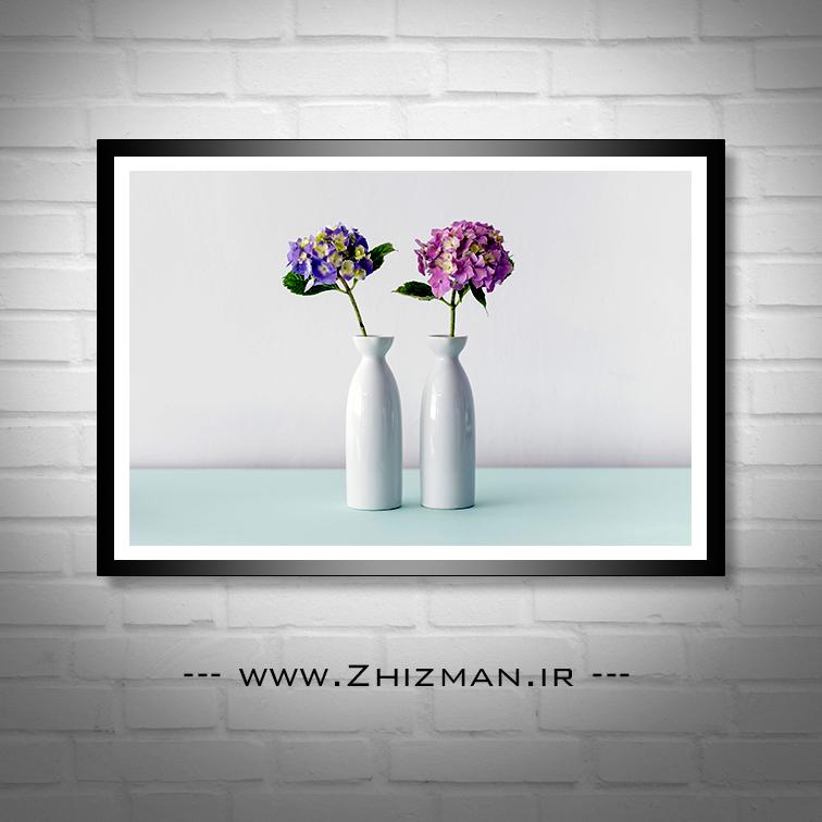 عکس گلدان گل
