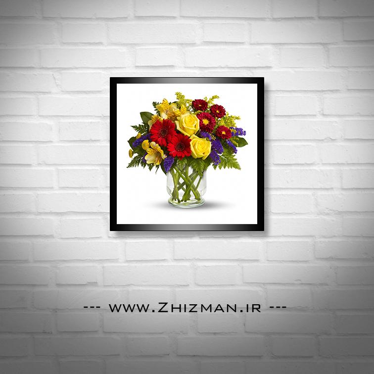 تصویر گلدان گل زیبا
