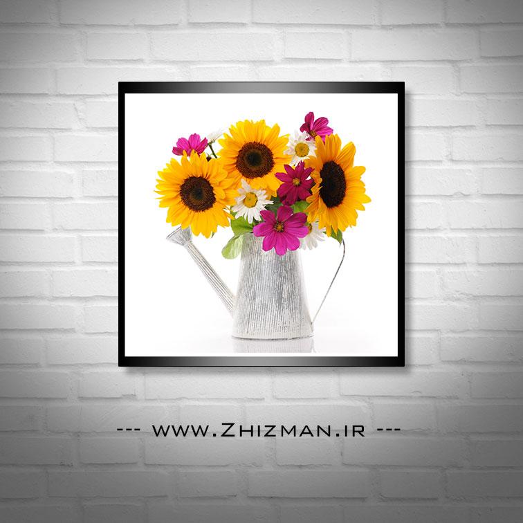 عکس گل آفتابگردان در گلدان