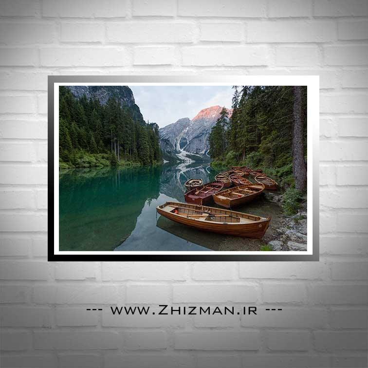 عکس دریاچه پراگز ایتالیا