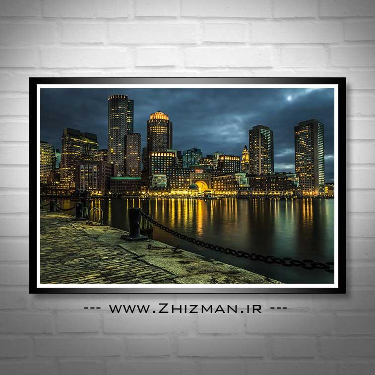 عکس بندرگاه بوستون