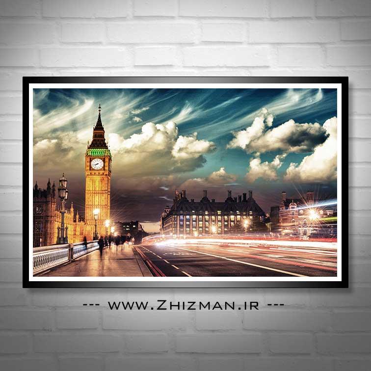 عکس زمینه بیگ بن - برج الیزابت لندن