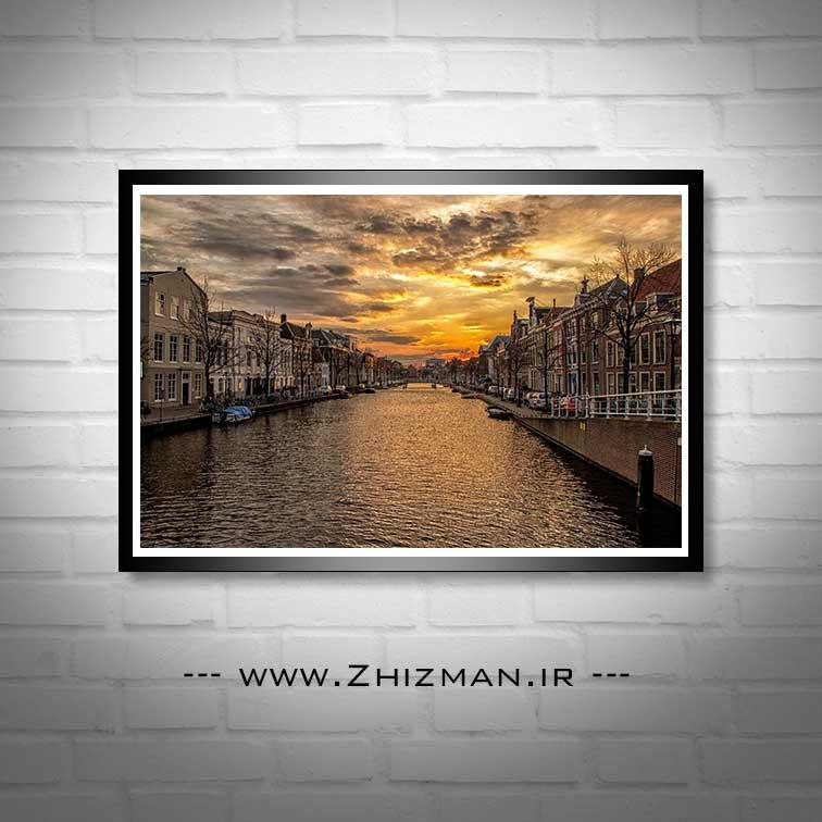 عکس آبراهه های آمستردام