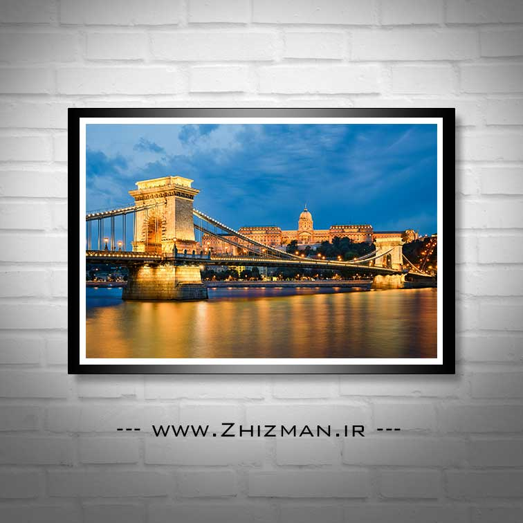 عکس پل زنجیر بوداپست مجارستان